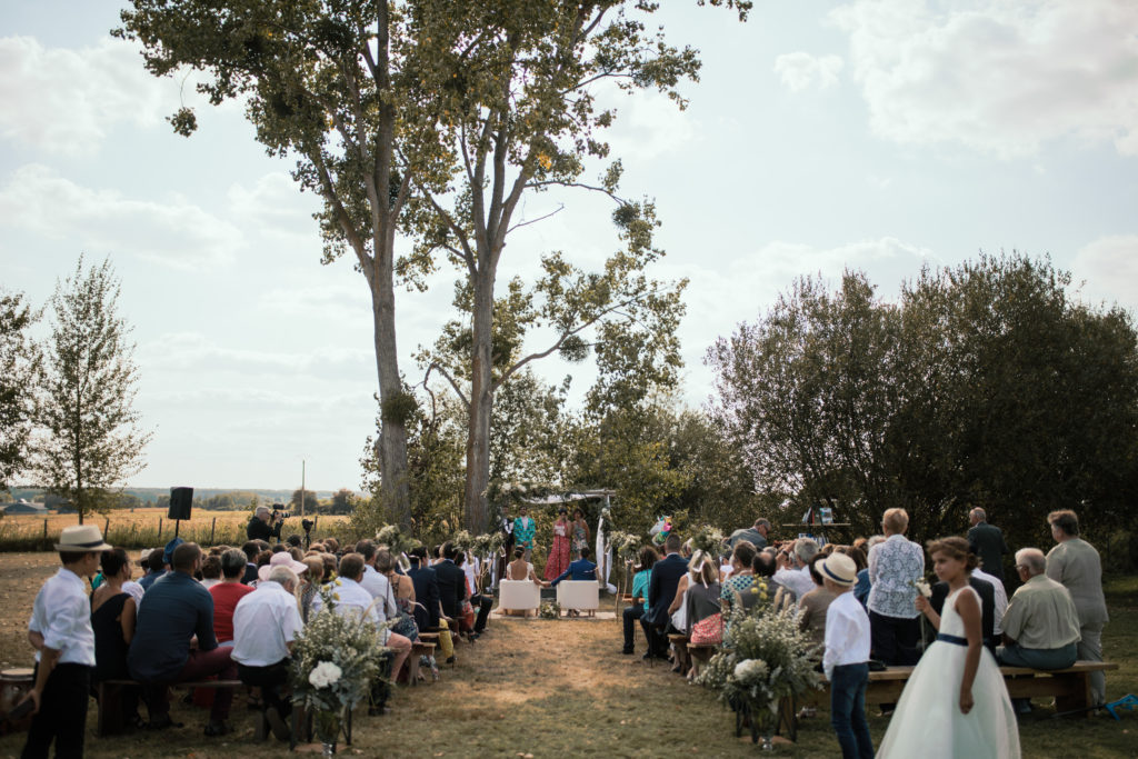 Cérémonie Laïque à la ferme du Carroir.