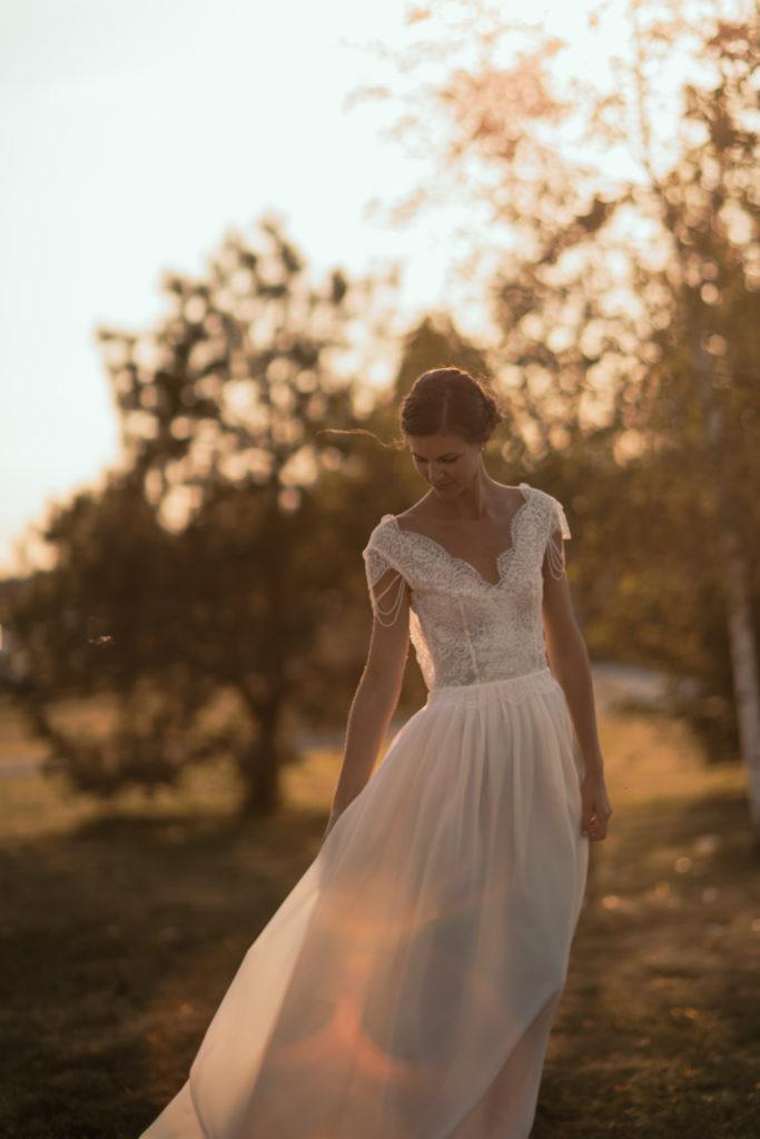 """Amélie, robe par """"De soie et d'émotions"""""""