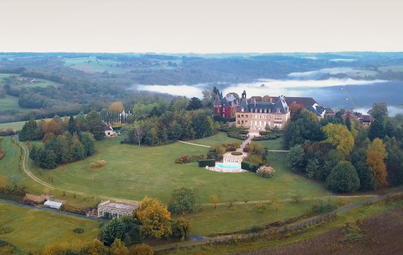 Mariage en vidéo au Domaine d'Essendieras, perdu en plein cœur de la Dordogne