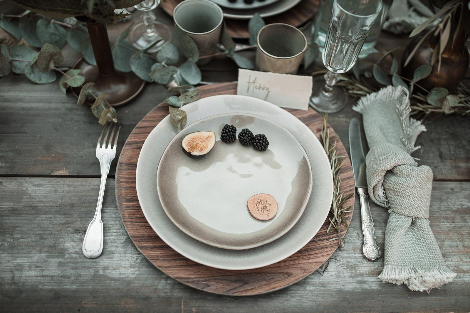Un décor de table par l'amoureuse wedding planner